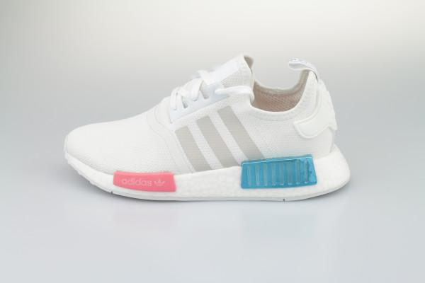 adidas NMD_R1 W (Cloud White / Grey One / Hazy Rose)