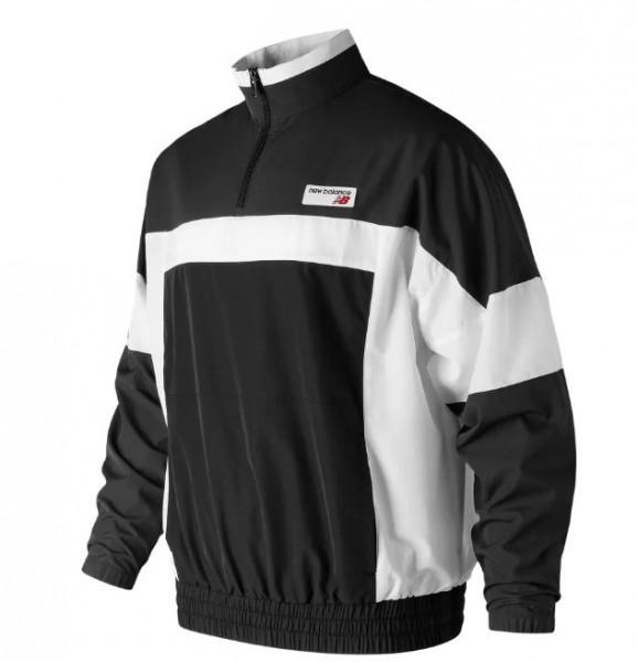 Athletics Windbreaker Pullover (Black)