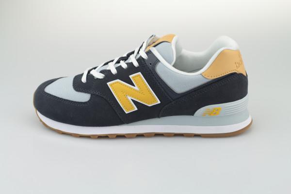 New Balance ML 574 NA2 (Grey/Yellow)
