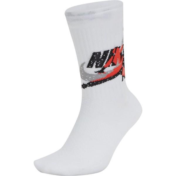 Jordan Lagacy Grew Socks ( White )
