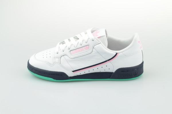 Continental 80 W (Footwear White / True Pink / Collegiate Navy)
