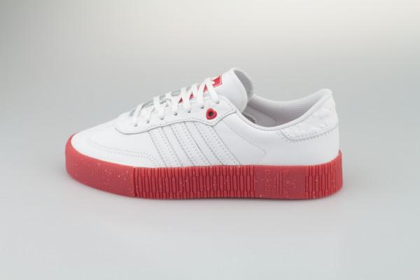 adidas Sambarose W (Footwear White / Scarlet / Core Black)