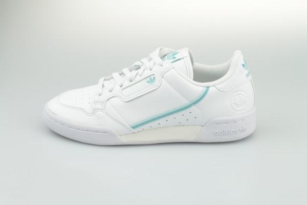 Adidas Continental 80 W Vegan (White/Mint)