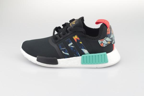 adidas NMD R1 W (Core Black / Supplier Colour / Acid Mint)