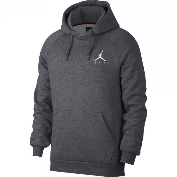 Jumpman Fleece Hoodie (Grey)