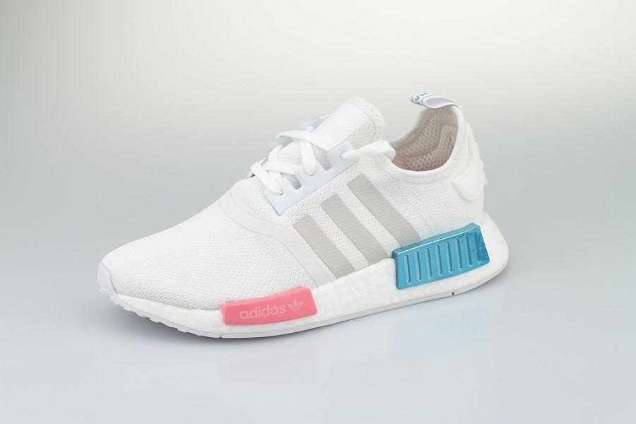 Adidas-NMD-Weiss-Blau-Rot-900-2