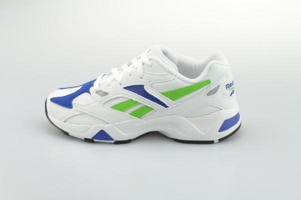 Aztrek 96 (White / Cobalt / Semi Solar Green)