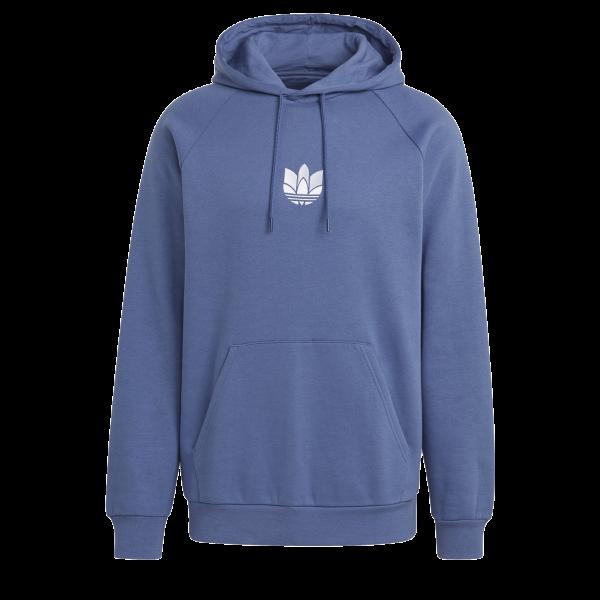 adidas 3D Trefoil Hoodie (Blue / White)