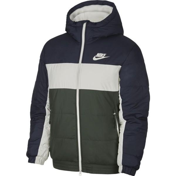 Sportswear Sythetic-Fill Full-Zip Jacket (Obsidian / Galactic Jade / Sail / Sail)