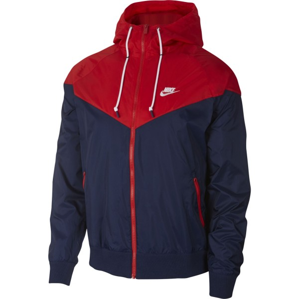Sportswear Windrunner (Midnight Navy / University Red / White)