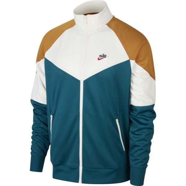 Air Sportswear Jacket (Geode Teal / Sail / Gold Suede)