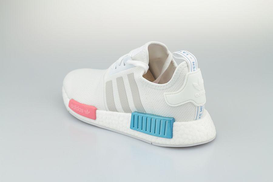 Adidas-NMD-Weiss-Blau-Rot-900-3