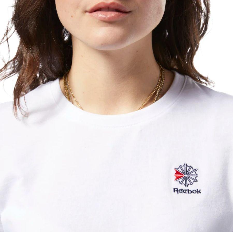 Reebok-Classic-Small-Logo-T-Shirt-White-DH1358-3