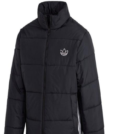adidas Padded Standard Puffer Winterjacket (black/white)