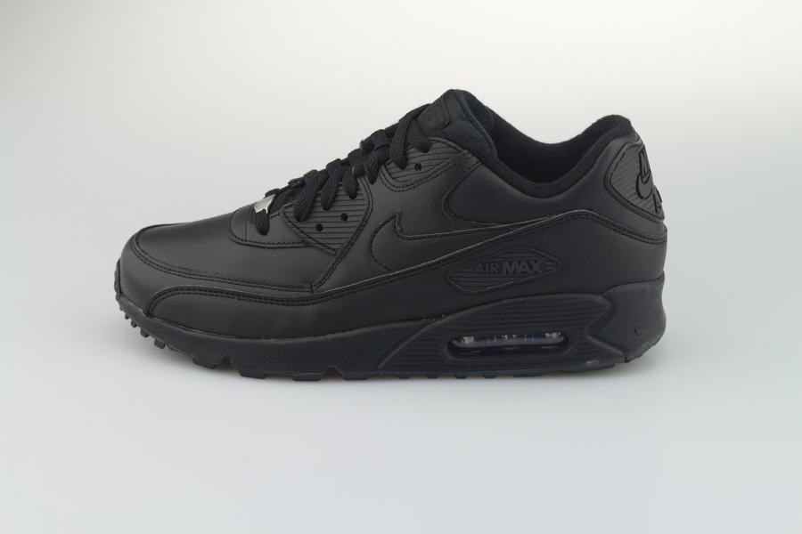 nike-air-max-90-leather-302519-001-black-schwarz-16HPH58Q42UGgQ