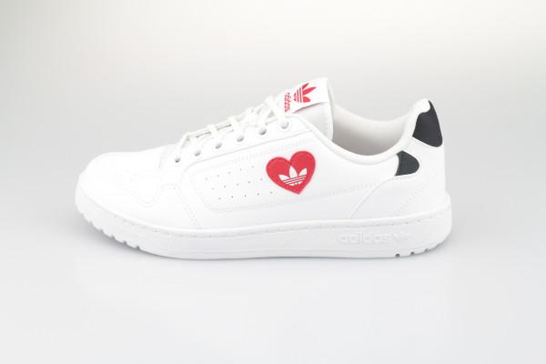 adidas NY 90 (White / Scarlet / Black)