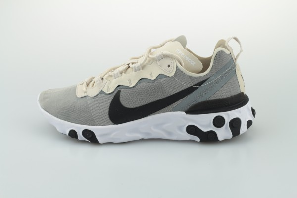 React Element 55 (Light Orewood Brown / Black - White - Cool Grey)