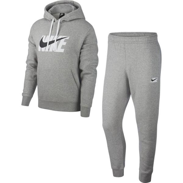Sportswear Tracksuit (Dark Grey Heather)