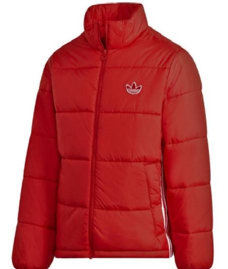 adidas Padded Standard Puffer Winterjacket (red/white)