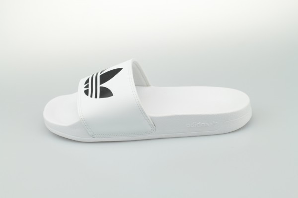 adilette Lite (Cloud White / Core Black / Cloud White)