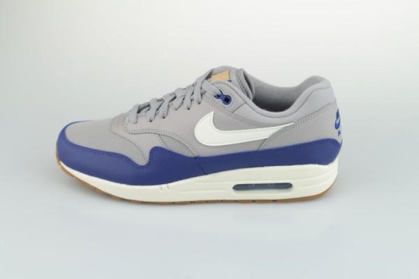 Nike Air Max 1 Grau / Blau