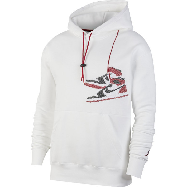 Jordan Jumpman Holiday Hoodie (White)