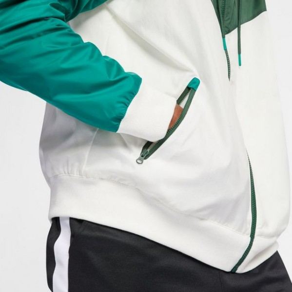 Sportswear Windrunner (Sail / Fir - Mystic Green - Sail)