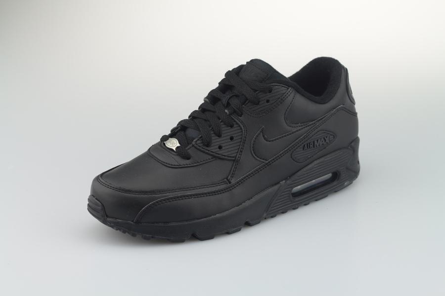 nike-air-max-90-leather-302519-001-black-schwarz-2rxdCRaXpaTYhG