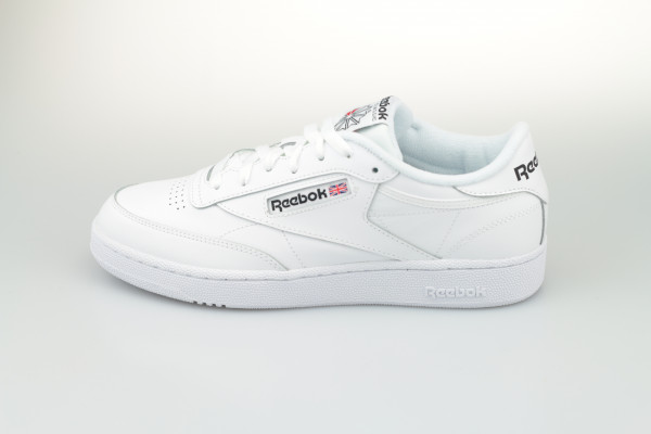 Reebok Club C 85 (White / White / Black)