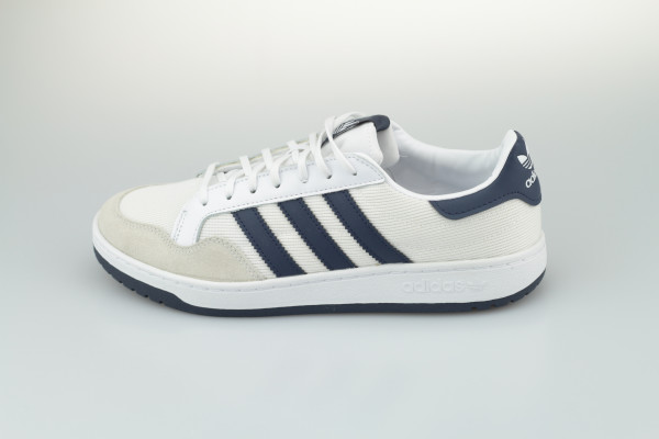 Adidas Team Court (Cloud White/Collegiate Navy/Collegiate Navy)