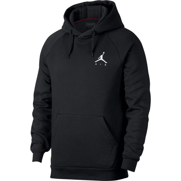 Jumpman Fleece Hoodie (Black)