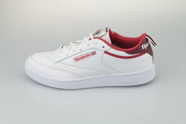 Club C 85 MU (White / Red)