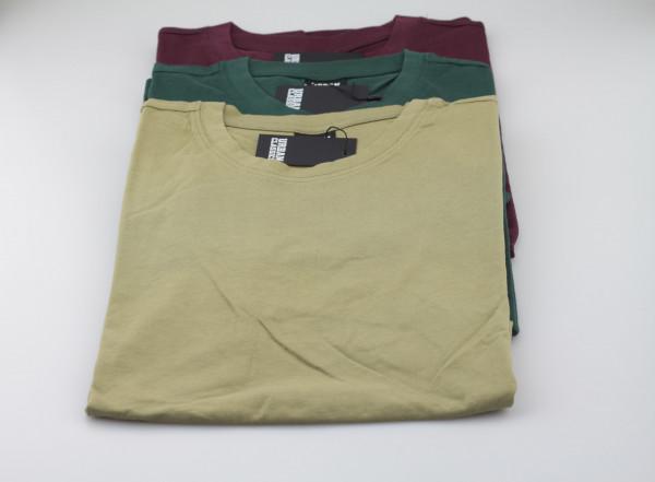 3 Basics Shits (Green / Burgundy / Khaki)