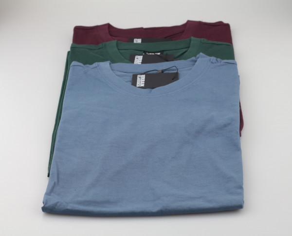 3 Basics Shits (Green / Blue / Burgundy)