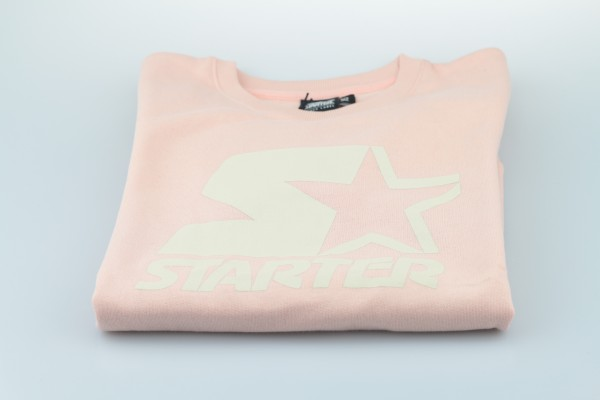 "Crewneck ""Shaquille"" (Pale Blush / Cloud Cream)"