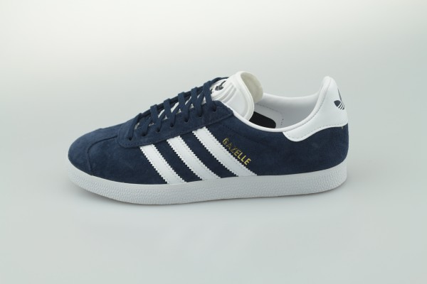 Gazelle (Collegiate Navy / Footwear White / Gold Metallic)