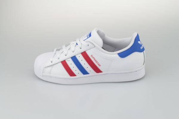 Superstar Foundation (White/Red/Blue)