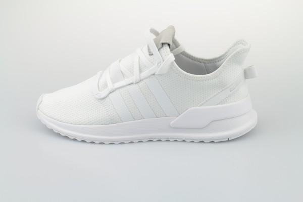 U_Path Run (Footwear White / Footwear White / Core Black)