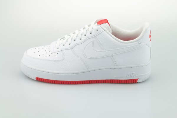 Air Force 1 '07 (White / White - Habanero Red)