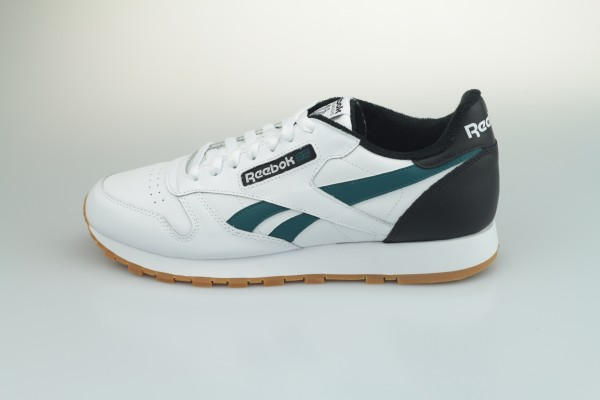 Classic Leather MU (White / Black / Heritage Teal)