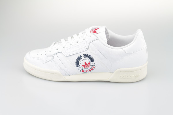 adidas Continental 80 (White / White / White)