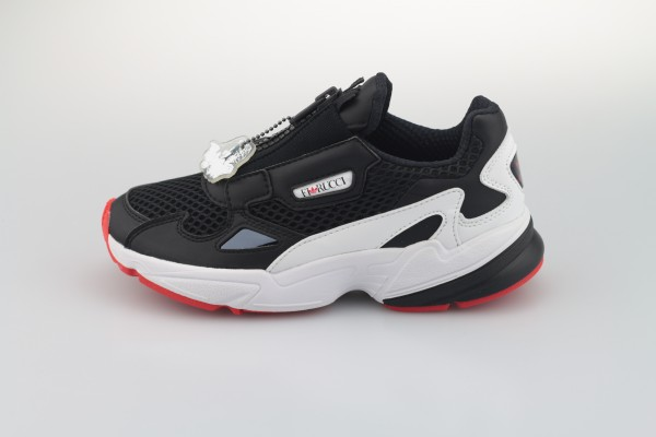 Falcon Zip W *Fiorucci* (Core Black / Cloud White / Red)