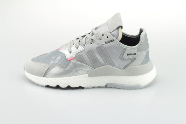 Nite Jogger (Silver Metallic / Laser Orange / Core Black)
