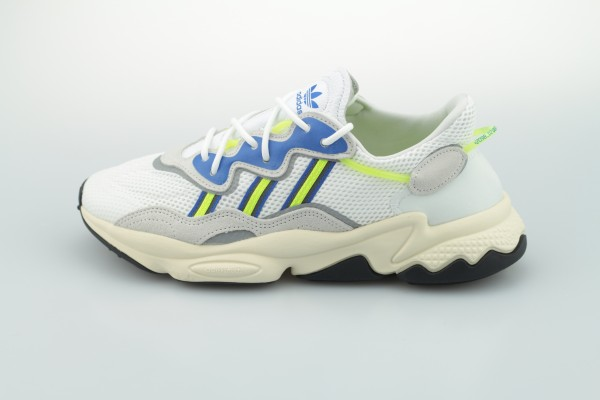 Ozweego (Footwear White / Grey One / Solar Yellow)