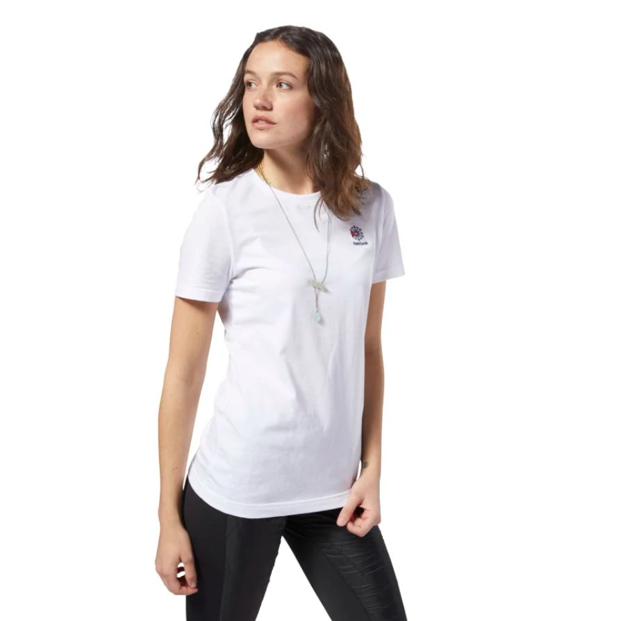 Reebok-Classic-Small-Logo-T-Shirt-White-DH1358-4