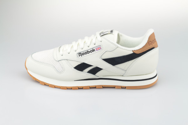 Reebok Classic Leather (Chalk / Black / Chalk)
