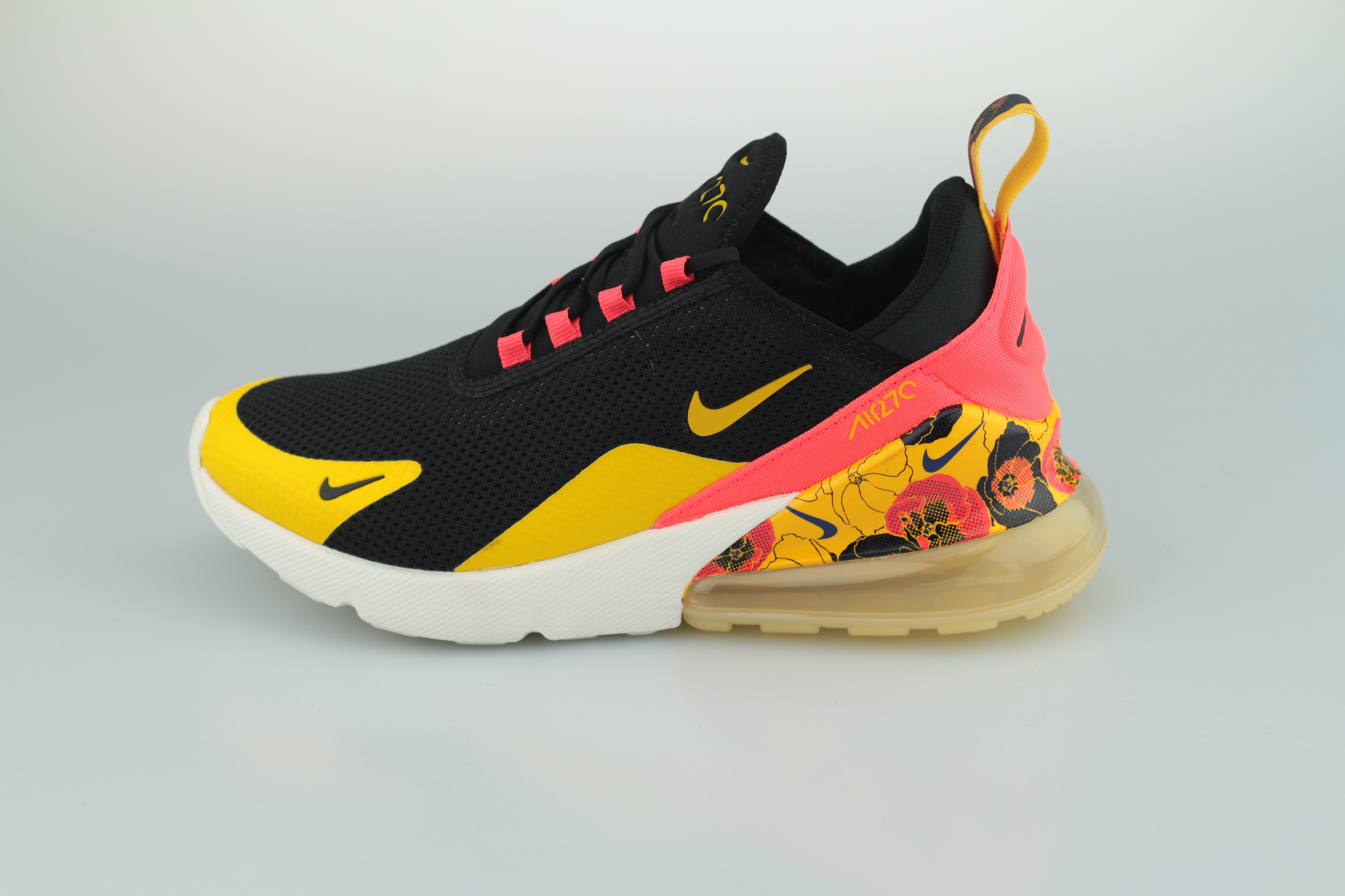 crazy price buy best differently Wmns Air Max 270 SE Floral (Black / University Gold - Bright Crimson)