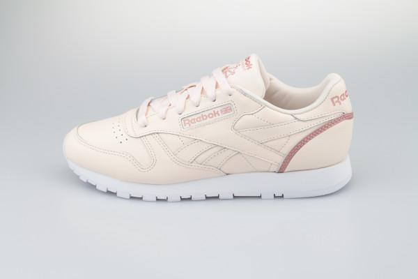 Reebok Classic Leather (Ceramic Pink / Blush Metal / Cloud White)