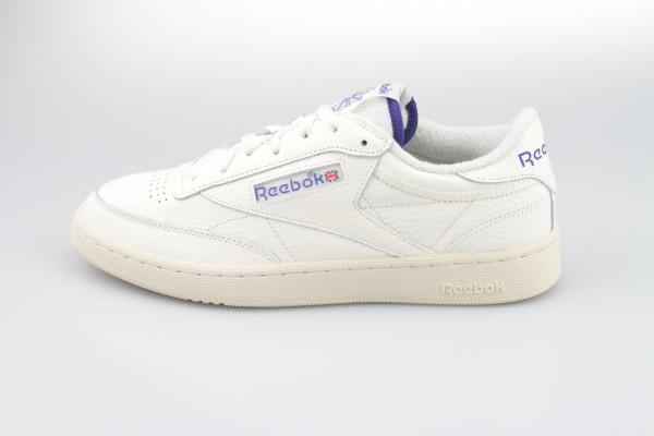 Reebok Club C 85 (Chalk / Alabaster / Bold Purple)