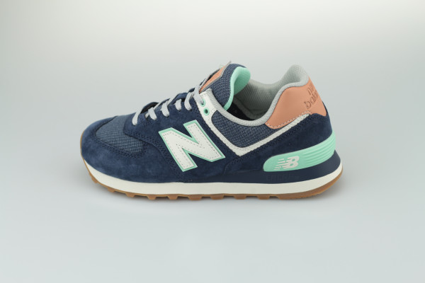 New Balance WL574 BCM (Natural Indigo/Faded Mahogany)